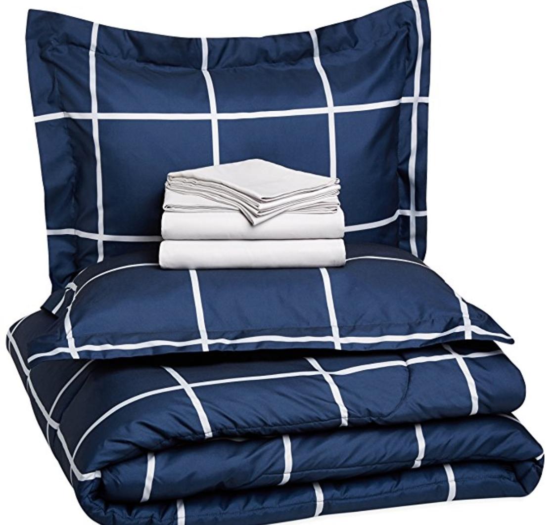 7 piece Bed in a Bag, Queen:Full