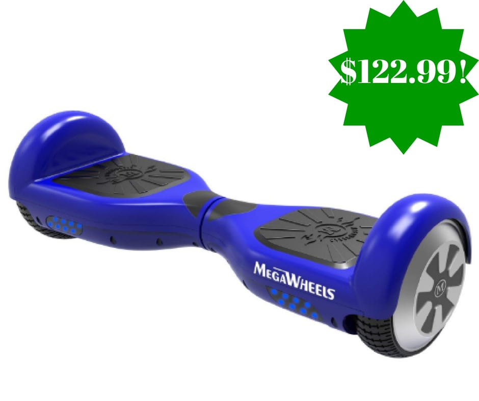 Amazon: MegaWheels Self Balancing Hoverboard Only $122.99 (Reg. $170, Today Only)