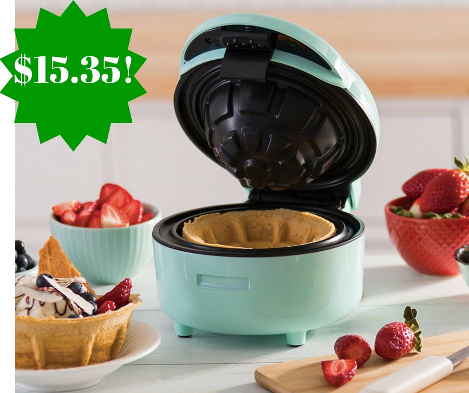 Amazon: DASH Waffle Bowl Maker Only $15.35 (Reg. $30)