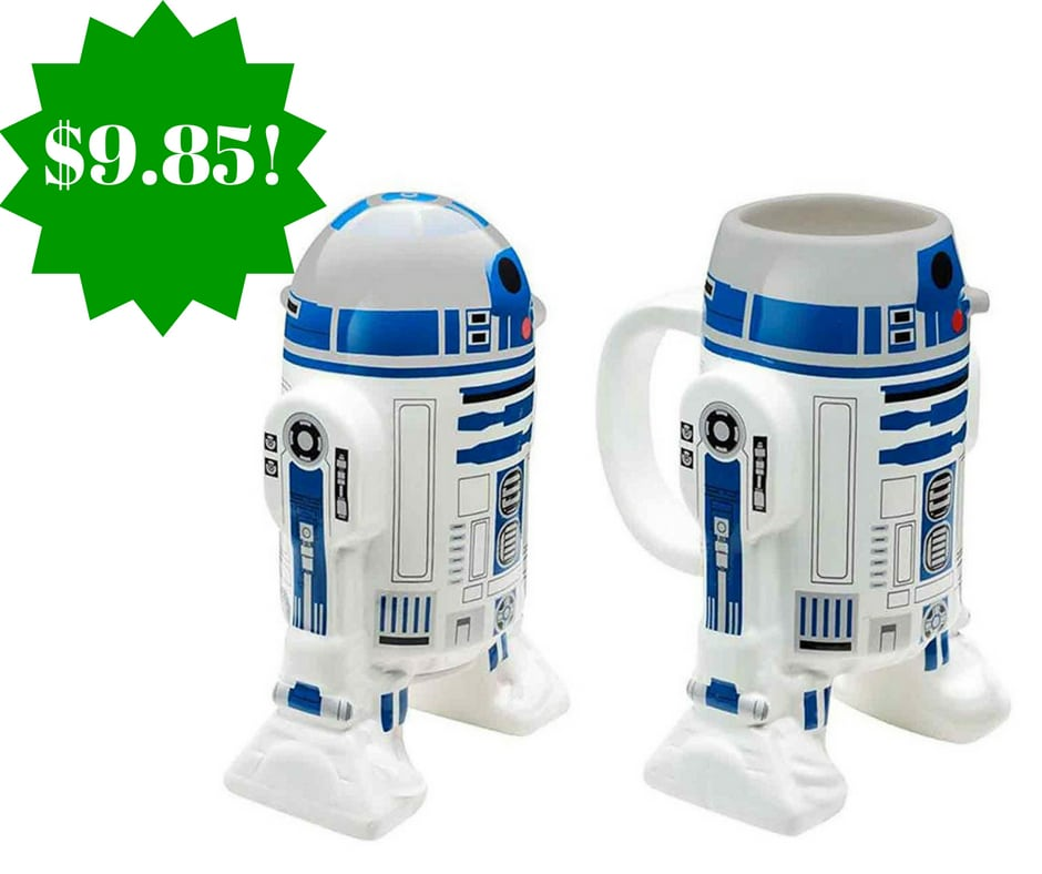 Amazon: Star Wars Sculpted R2D2 Ceramic Coffee Cup Only $9.85 (Reg. $13)