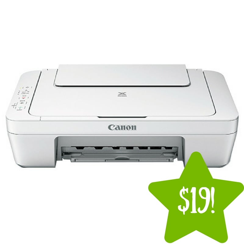 Walmart: Canon Pixma All-in-One Inkjet Printer Only $19 (Reg. $35)