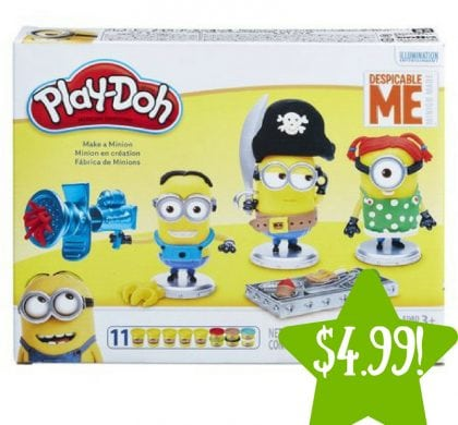 Walmart: Play-Doh Despicable Me Make A Minion Set Only $4.99 (Reg. $15)