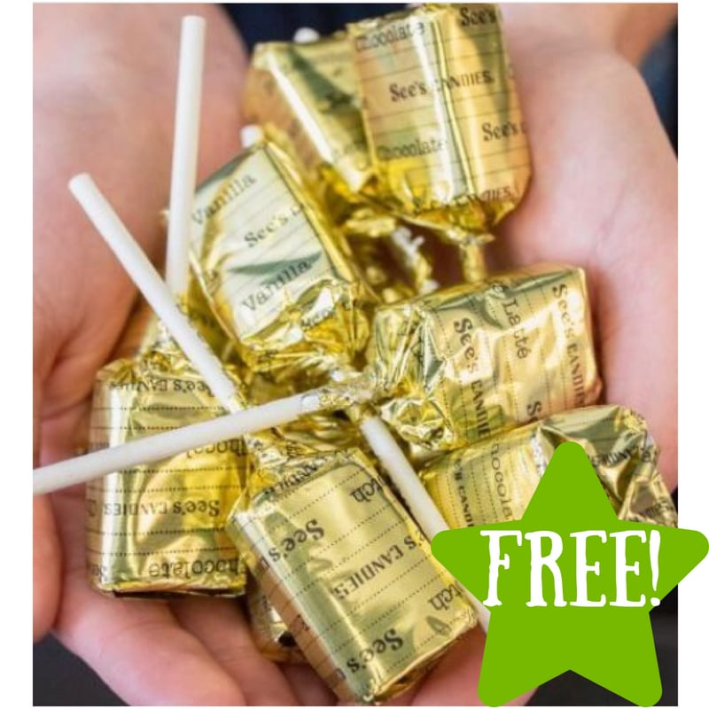 FREE Lollypop at See's Candies on July 20th