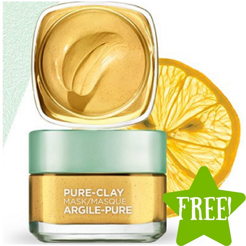 FREE Sample of L'Oreal Pure-Clay Yuzu Mask