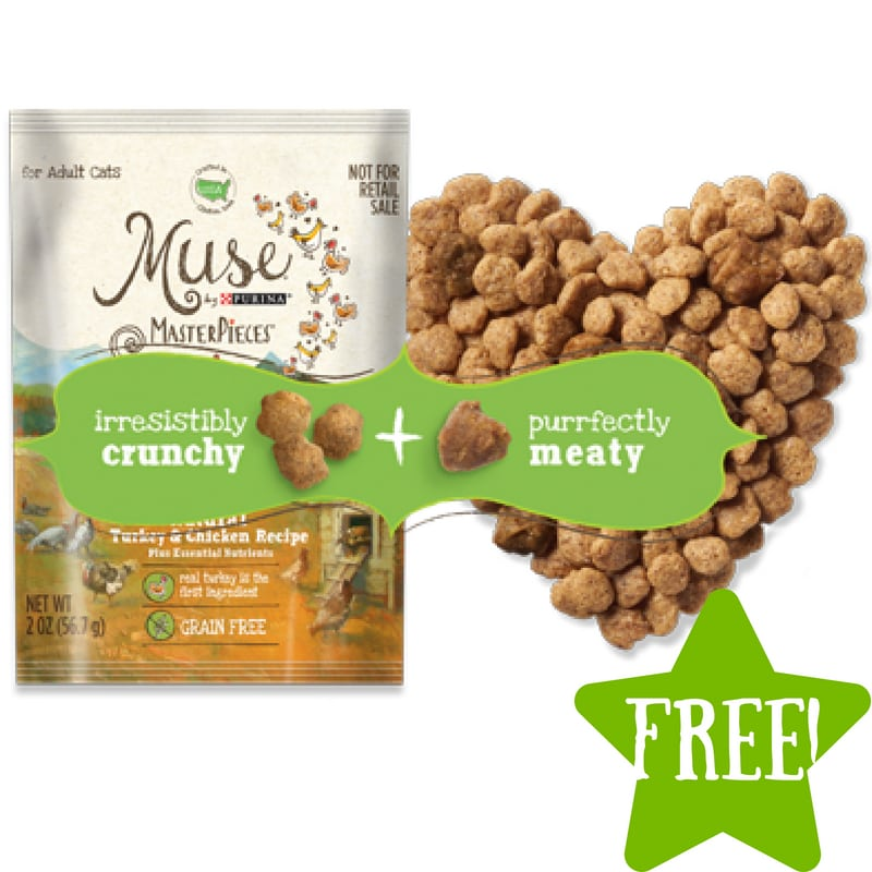 FREE Sample of Muse MasterPieces Cat Food