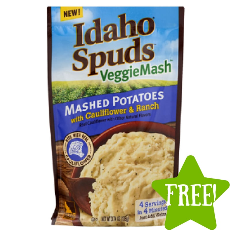 FREE Idaho Spuds VeggieMash Product