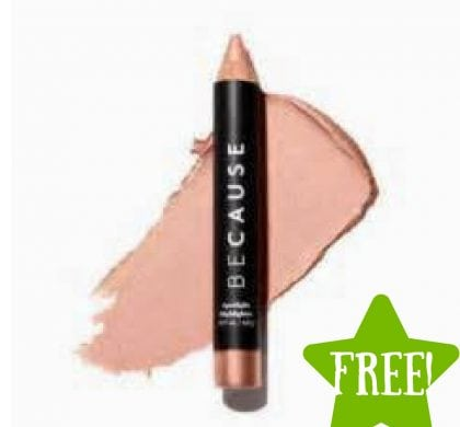 FREE BeCause Silky Matte Lip Crayon