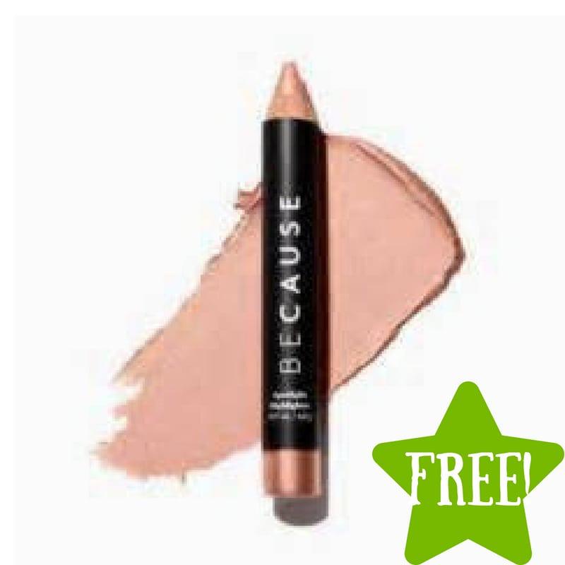 FREE BeCause Silky Matte Lip Crayon