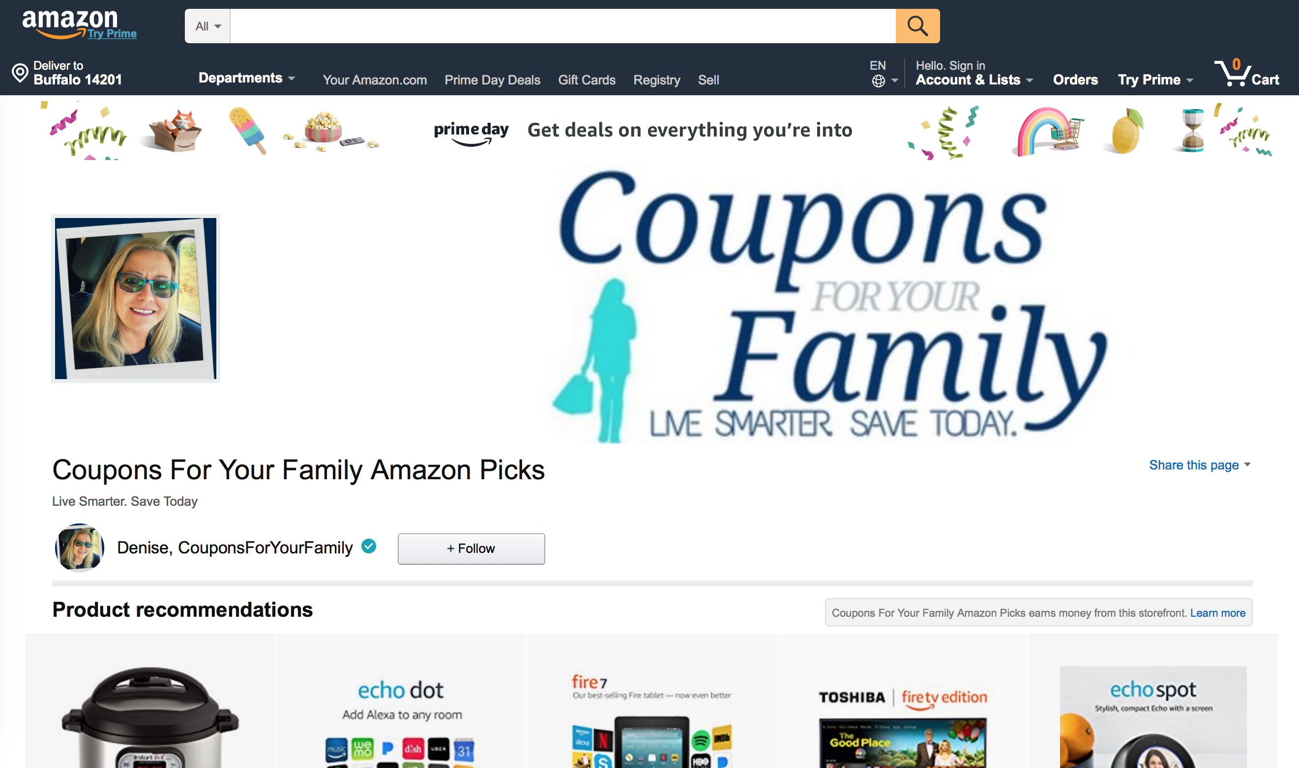 Coupons For Your Family Amazon Storefront