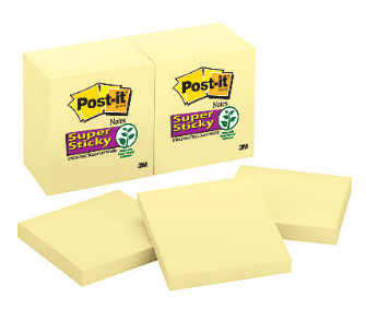 Walmart: Post-It Super Sticky Notes Only $0.50!