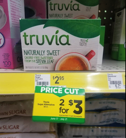 Dollar General: FREE Truvia Sweetener!