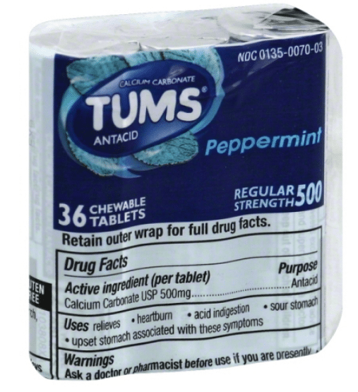 Wegmans: Tums Regular Strength Antacid Only $0.99!