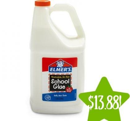 Walmart: Gallon of Elmer's Washable School Glue Only $13.88