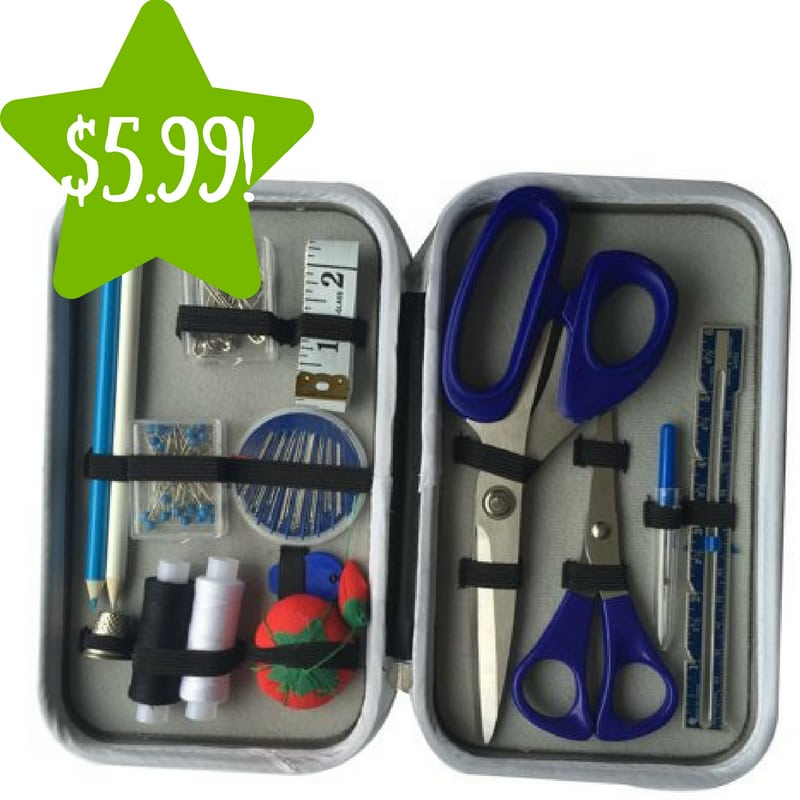 Walmart: 25-Piece Travel Size Sewing Kit Only $5.99 (Reg. $10)