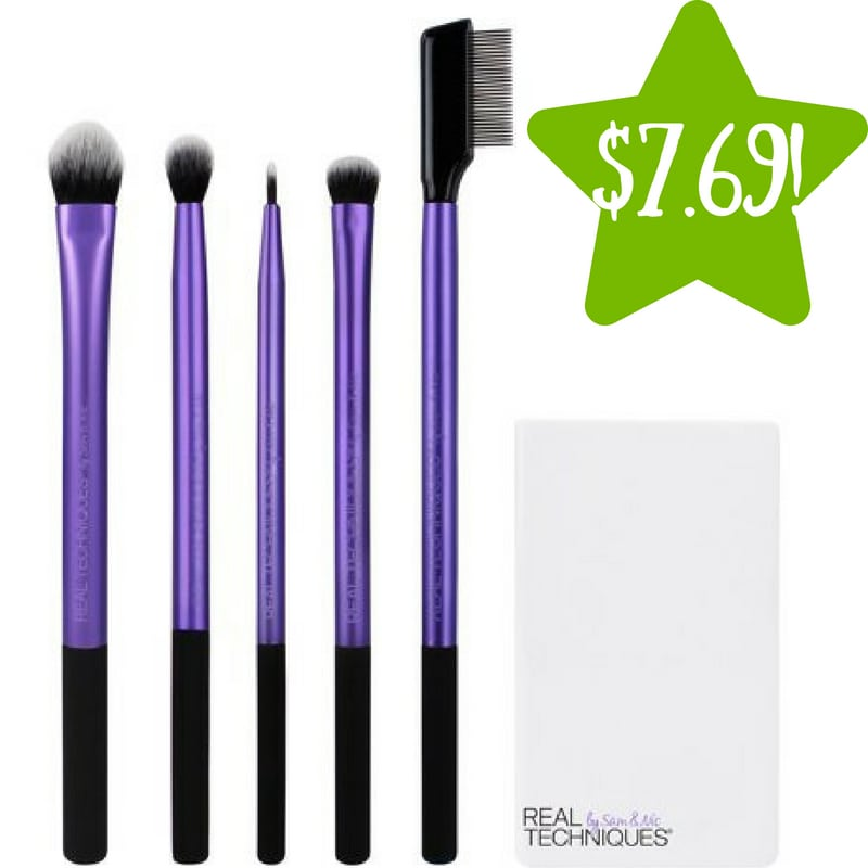 Walmart: Real Techniques Enhanced Eye Makeup Brush Set Only $7.69 (Re.g $11)