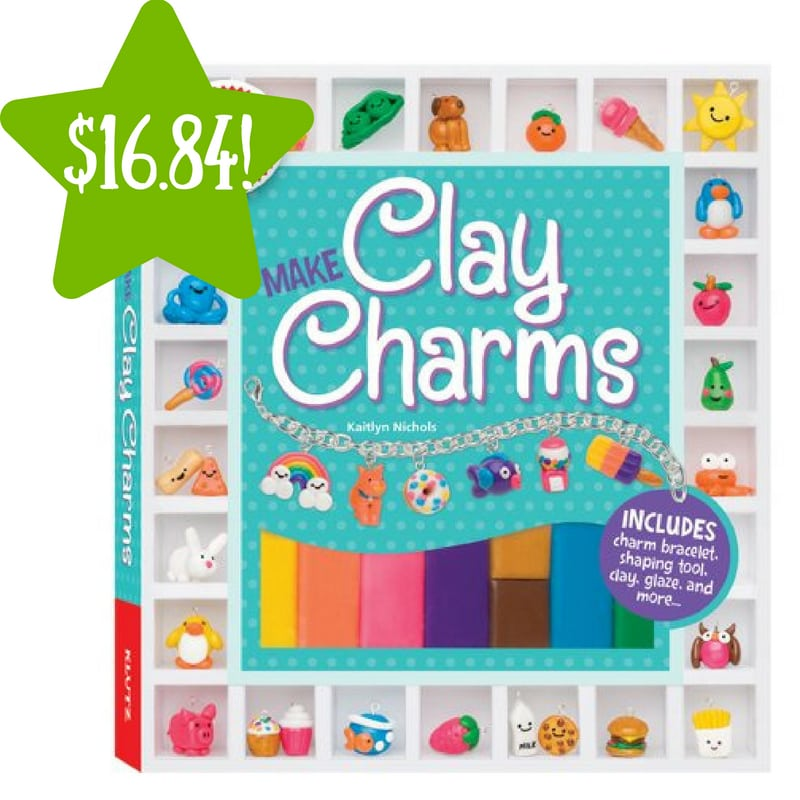 Walmart: Clay Charms Book Kit Only $16.84