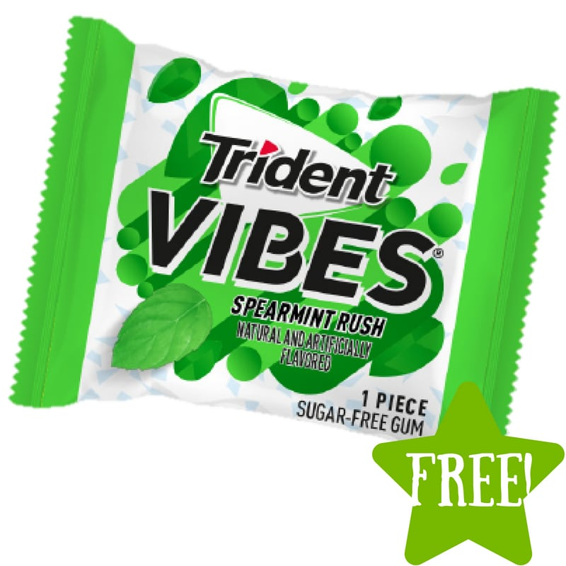 FREE Sample Pack of Trident Vibes Gum