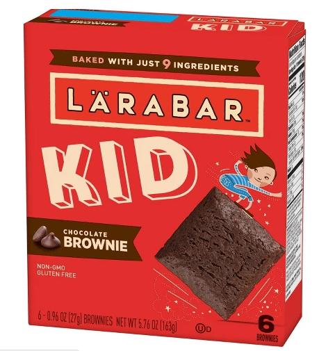 Target: Larabar Kid Brownies Only $0.55!