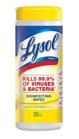 Walmart: Lysol Wipes Only $1.23!
