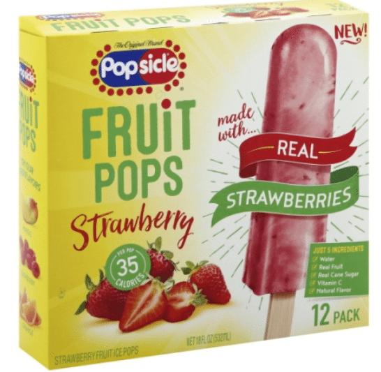 Wegmans: Popsicle Fruit Pops Only $2.25!