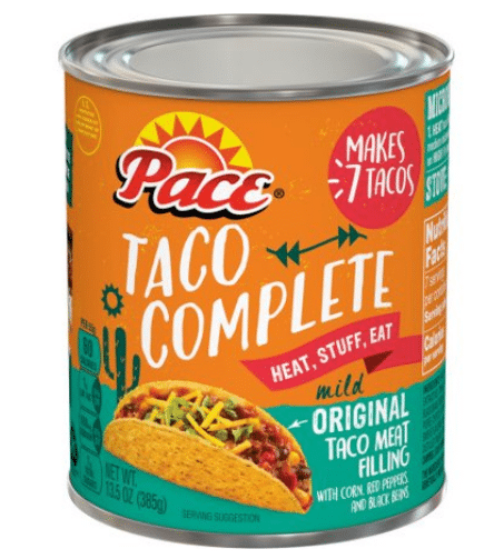 Walmart: Pace Taco Complete Only $1.48!