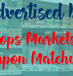 tops markets unadvertised
