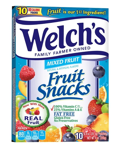 Target: Welch's Fruit Snacks Only $1.28!