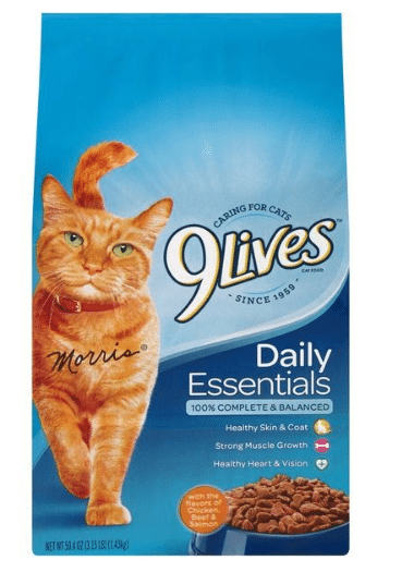 Tops: 9Lives Cat Food Only $2.29!