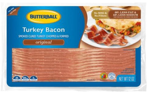 Walmart: Butterball Turkey Bacon Only $1.62!