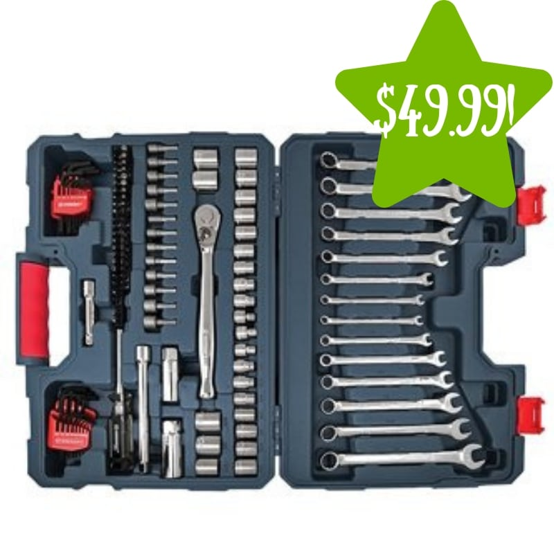 Walmart: Crescent 128-Piece Mechanics Tool Set Only $49.99 (Reg. $105)