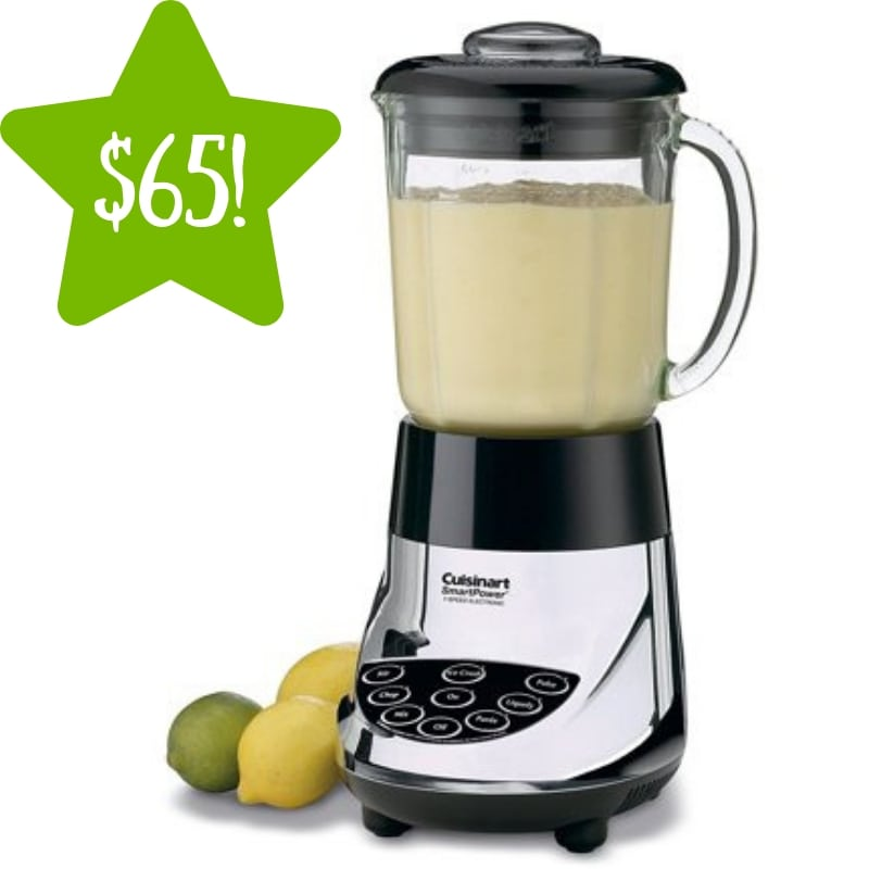 Walmart: Cuisinart Smart Power Electronic 7 Speed Blender Only $65 (Reg. $145)