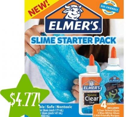 bcf76852a340f Walmart: Elmer's Blue Glitter Slime Starter Pack Only $4.77 (Reg. $9.47)