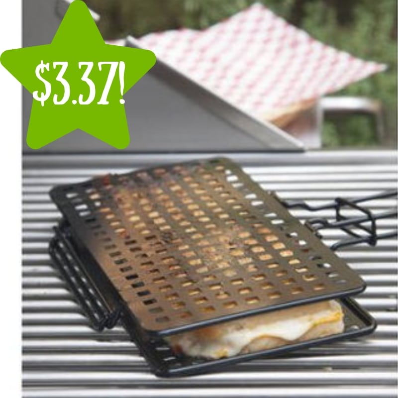 Walmart: Charcoal Companion Non-Stick Grilled Cheese Basket Only $3.37 (Reg. $7.50)