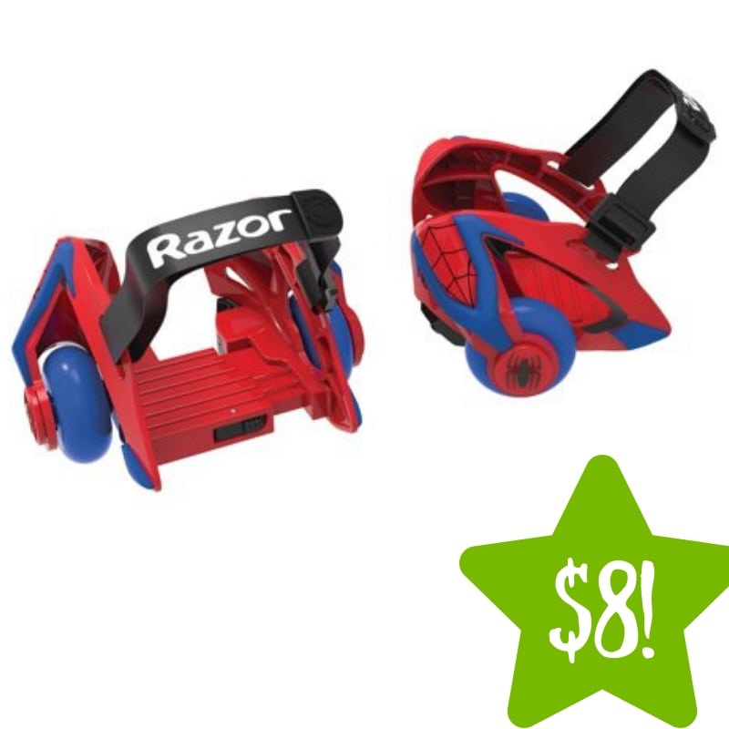 Walmart: Razor Spider-Man Jetts Heel Wheels Only $8 (Reg. $40)