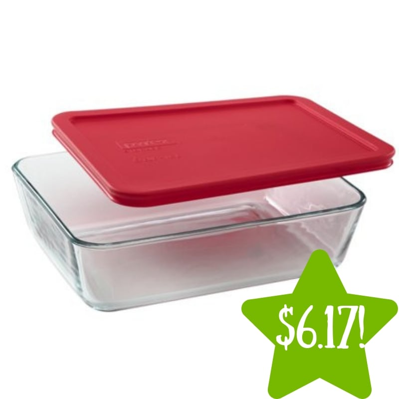 Walmart: Pyrex Simply Store 6-Cup Rectangular Dish Only $6.17 (Reg. $13)