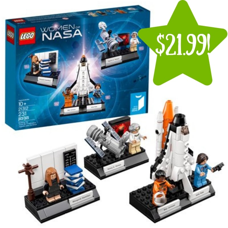 Walmart: LEGO IDEAS Women of NASA Only $21.99