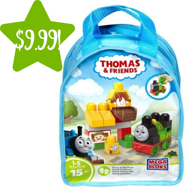 Walmart: Mega Bloks Thomas & Friends Percy at the Farm Building Bag Only $9.99 (Reg. $20)