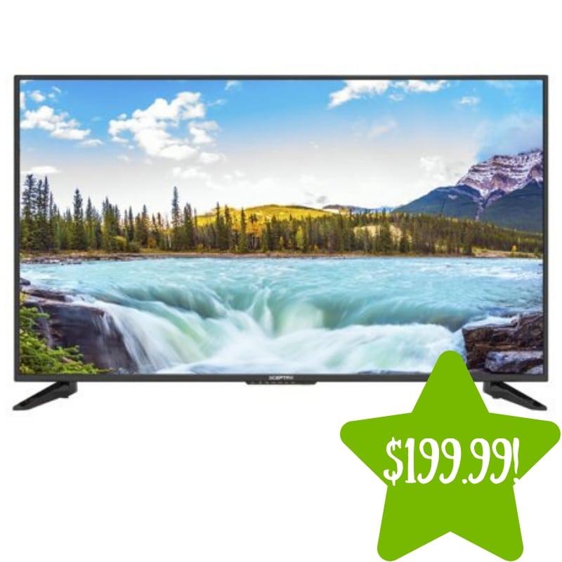 Walmart: Sceptre 50″ Class FHD (1080P) LED TV Only $199.99 (Reg. $500)