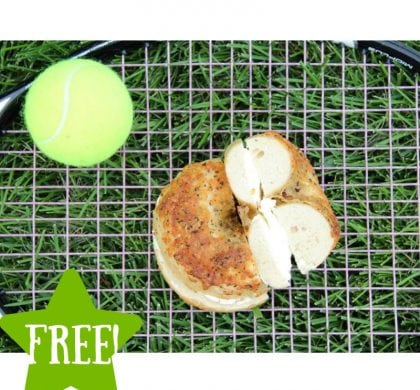 FREE Bagel & Cream Cheese at Bruegger's Bagels (Last Day)