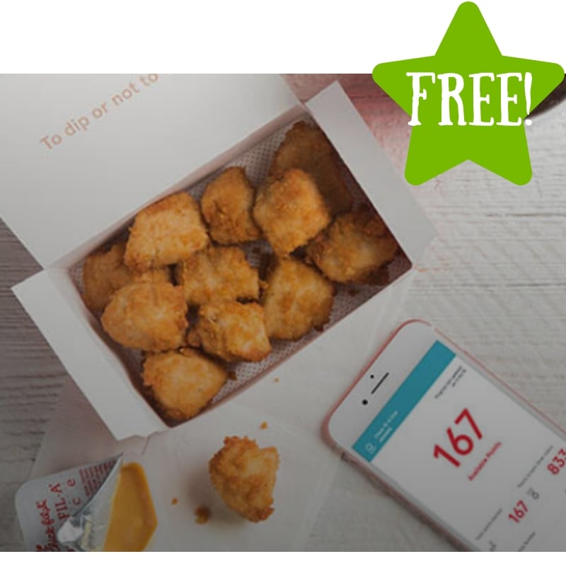 FREE 8 ct. Nuggets at Chick-fil-A