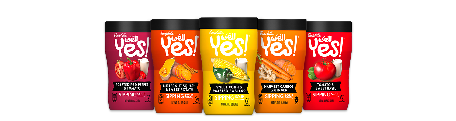 Campbells Sipping Well Yes Soup Coupon & deals at Harris Teeter, Tops, Walgreens & Wegmans