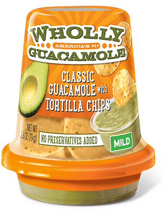 Tops: Wholly Guacamole Dip Snacks Only $0.50!