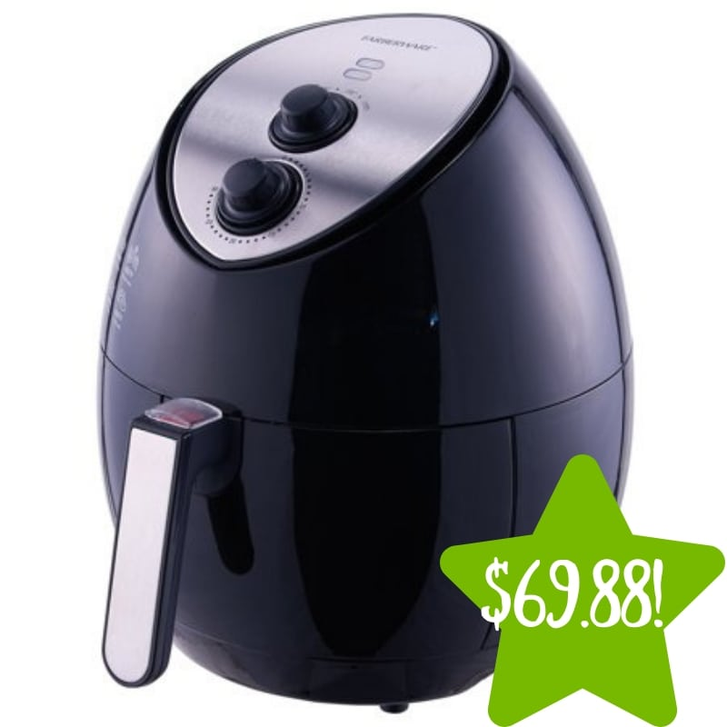 Walmart: Farberware 3.2 Quart Oil-less Multi-Functional Fryer Only $69.88 (Reg. $99)