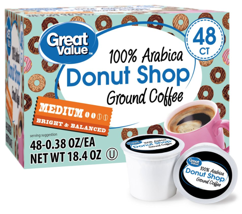 Great Value Donut Shop Cheap K Cups