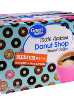 Great Value Donut Shop Coffee K Cups at Walmart