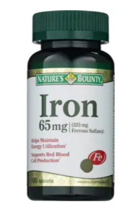 CVS: Nature's Bounty Iron Tablets Only $3!
