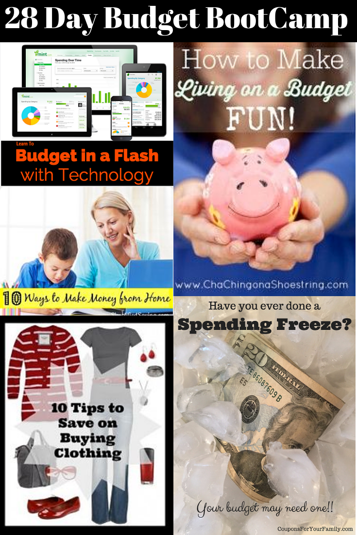 28 Day Budget BootCamp