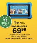 Kohls Doorbuster Deal 2018 LIVE NOW ~ Amazon Fire 7 ONLY $54.99!!!