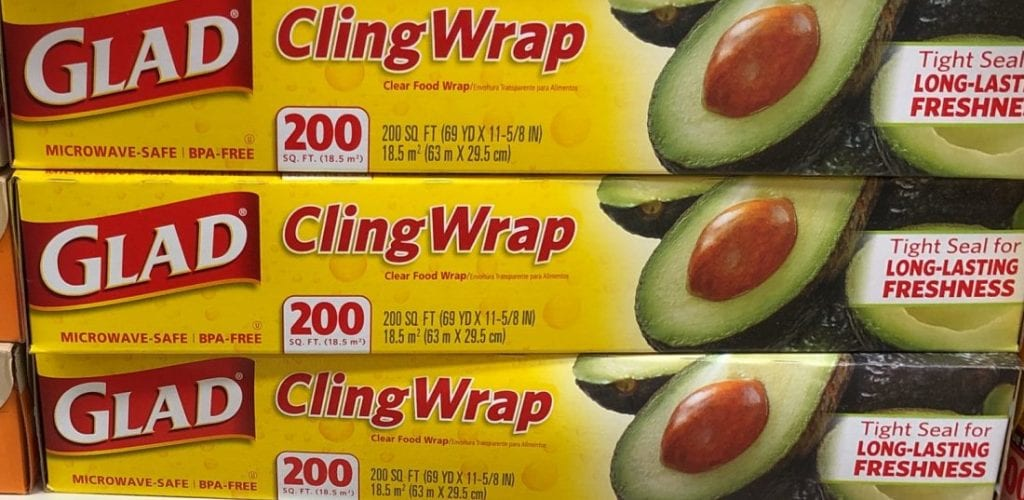 glad coupons cling wrap