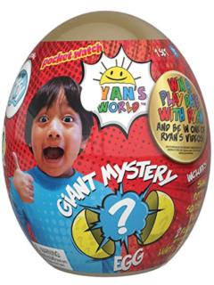 Ryan's World Giant Gold Mystery Egg